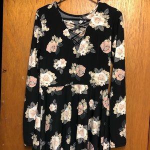Dresses & Skirts - Floral Short Summer Dress